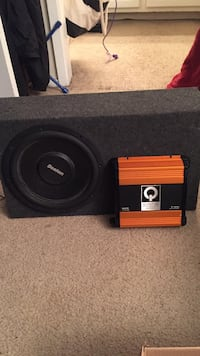 """12"""" sub and amp Roswell, 30022"""