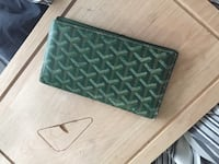 green leather bifold wallet Surrey, V4A 1W6