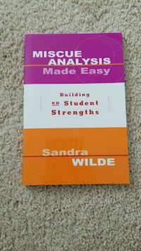 Miscue Analysis Made Easy