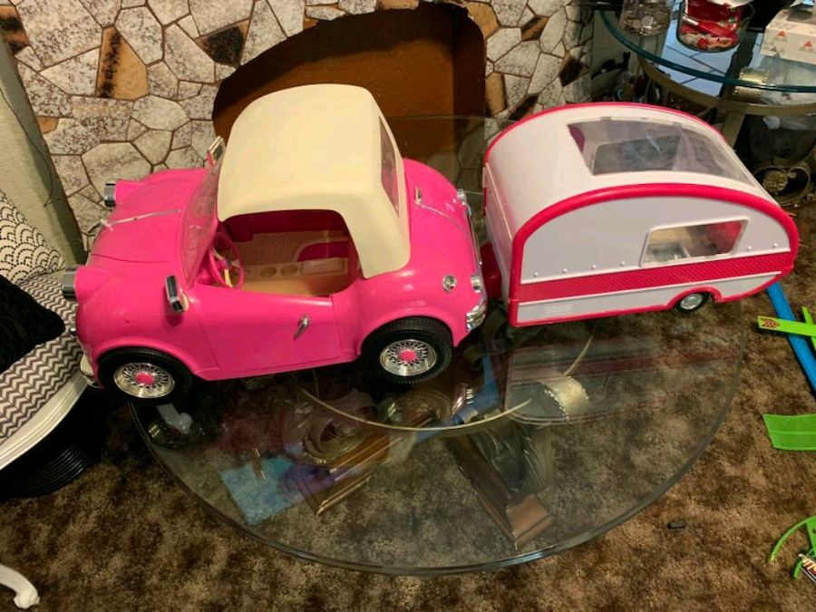 Photo Our Generation Retro Convertible Car Cruiser fits American Girl Dolls