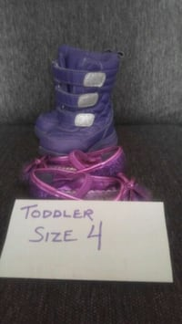 EUC Toddler Size 4 Boots & Dress shoes
