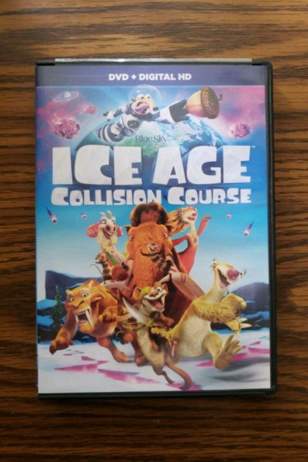 Ice Age Collision Course DVD
