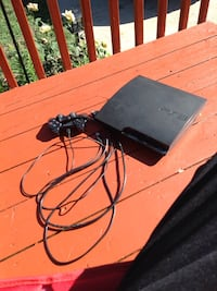 black Sony PS3 Slim with controller Des Moines, 50317