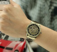 Classic Bronze Skeleton Exposed Movement Automatic Watch Vancouver