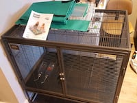 Critter nation rat cage w/accessories Vancouver, V5W 1M1
