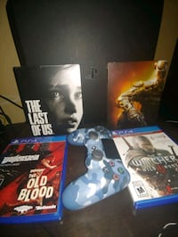 PS4 PRO 1TB with games and controller Brampton, L6W 3H1