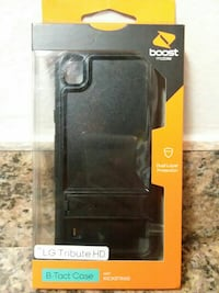 black Boost Mobile smartphone case pack