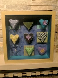 Heart box frame