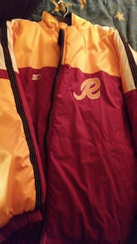 red and yellow full zipped jacket Greenbelt, 20770