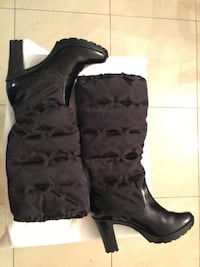 Coach Boots Loryn Quilted 9B Miami