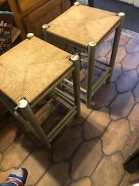 Four standard size stools