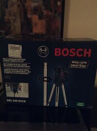 Brand new Bosch self-leveling rotary laser complete kit $550 firm  Mississauga, L5K 1T4