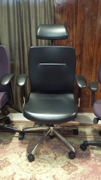 4 Chairs 1 Is Genuine Leather All Genuine Made In Canada