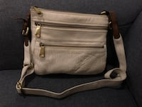 Fossil Women's Ivory Leather Crossbody Burlington, L7P 2B4