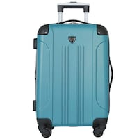"Travelers Club 20"" Chicago Spinner Expandable Carry-On Luggage Toronto"