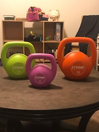 3 Kettlebells brand new Washington, 20003