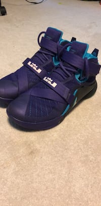NIKE Lebron Soldier IX (9) Size 10.5 Charlotte Hornets Dumfries, 22026
