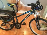 Blue and black garneau mountain bike Terrebonne, J6X