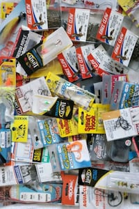 Lots of fishing hooks,gamakatsu,eagle claw etc.,54pcs.