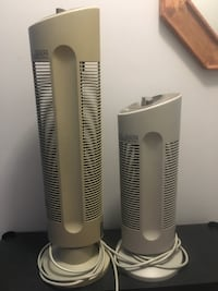 2 Sharper Image Quadra Silent Air Purifiers For sale
