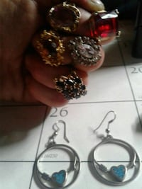Assorted rings and earrings  Amarillo, 79106