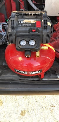 red and black Porter Cable air compressor South El Monte, 91733