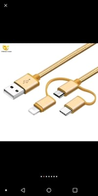 3 in 1 Multi-functional Fast Charging Cable for iP Charlotte