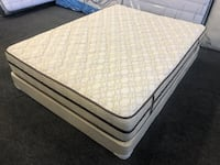 Queen Orthopedic Mattress Set  Los Angeles, 90011