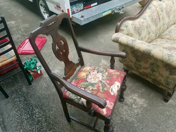 Antique captains chair circa 1850s - Used Antique Captains Chair Circa 1850s For Sale In Peachtree City