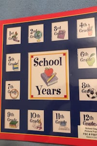 School Years Picture Frame Columbia, 21045