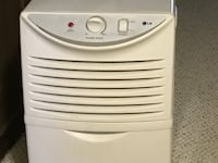 white and gray portable air cooler BURKE