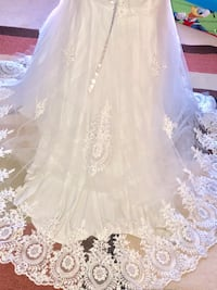 Women's white floral wedding dress Manassas, 20109