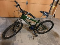 green and black hardtail mountain bike Toronto, M4V 2M7