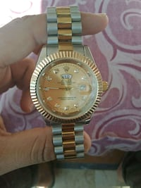 Rolex Golden Chain Watch  Karachi, 12311