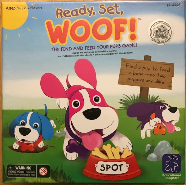 Ready, Set, Woof! Board Game for Kids