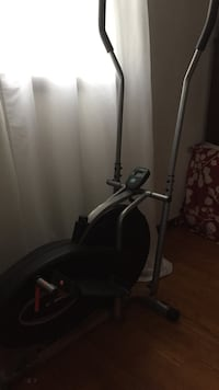 gray and black elliptical trainer Sun Prairie, 53590