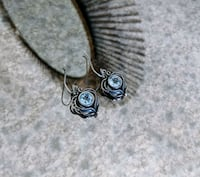 Sterling Silver Earrings with Gemstones Claremont, 91711