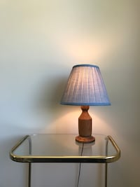 Blue and brown table lamp Vancouver, V5T 2R9