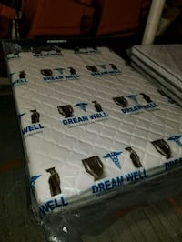 Queen size mattress and matching box spring Fall River
