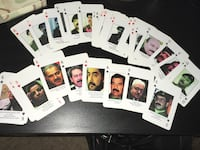 Iraq's Most Wanted Playing Cards Los Angeles, 91405