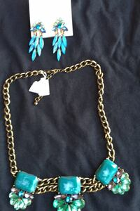 Jewelry set - earrings and necklace