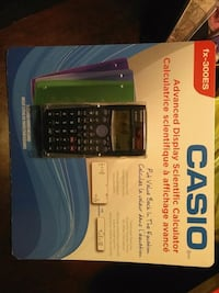 NEW CASIO ADVANCED DISPLAY SCIENTIFIC CALCULATOR