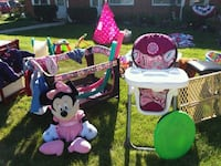 Matching Highchair, playpen, and infant carseat  Cleveland