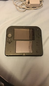 Black and blue nintendo 2DS handheld console Lower Sackville, B4E 1W7