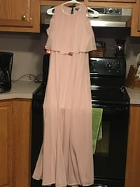 size 10 long homecoming dress wore one time in good condition York Springs