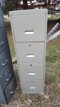 Filing cabinets several sizes