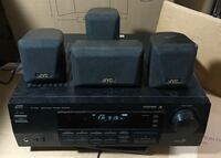JVC RX-558VBK / JVC RX-558V 5.1 SURROUND RECEIVER With 5 Speakers. New Carrollton, 20706