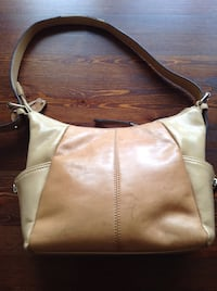 Two tone Tanned leather purse Medicine Hat, T1A
