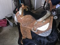 Circle Y Western Pleasure Equitation Show 16 inches Saddle SEATTLE