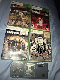 4 Games and Hard drive for 40$ 28 km